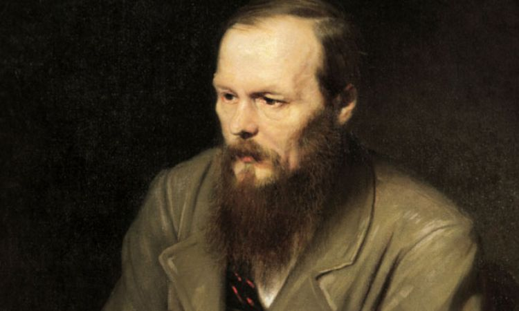 Portrait of Fyodor Dostoevsky by Vasily Perov
